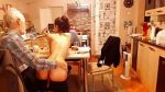 SWEETDESIRE12 LET AN OLD GUY CARESS HER BODY IN FRONT OF BF